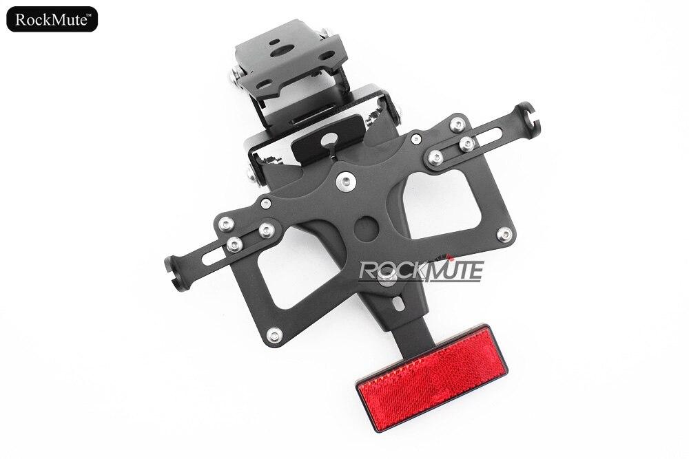 Pour Honda CB650F 2014 2015 2016 moto plaque d'immatriculation monture de support queue rangée garde-boue éliminateur enregistrement support de montage
