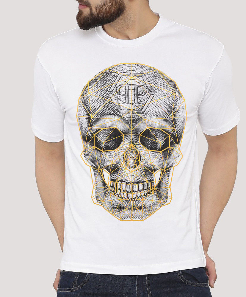 Retro 1Phillip 1Plein Graphic Tee 100% Unoficial   T  -  Shirt   Hip Hop Novelty   T     Shirts   Men'S Brand Clothing High Quality