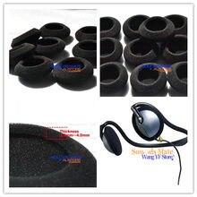 5 pares almofadas de ouvido espuma almofada capa para philips hs500 atrás da cabeça esporte fones substituição earpads