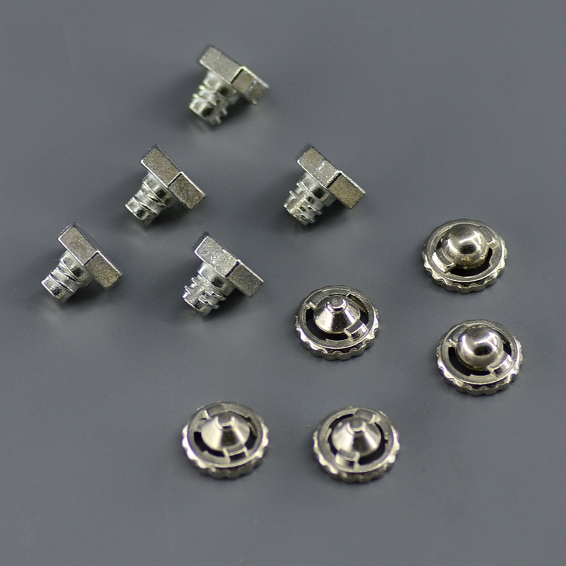 10pcs/ Lot Qualified Beyblade Parts Kit, 5 Pieces Metal Face Bolt + 5 Pieces Metal Performance Tip