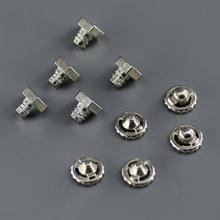 цены 10pcs/ lot Qualified Beyblade Parts Kit, 5 pieces Metal Face Bolt + 5 pieces Metal Performance Tip