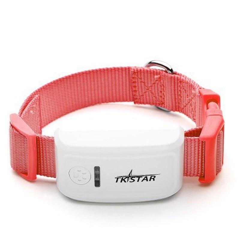 2017 nouveau TKSTAR MiNi Pet GPS Tracker collier GSM GPRS TK909 en temps réel suivi longue durée pour chien chats animaux de compagnie pas de boîtes