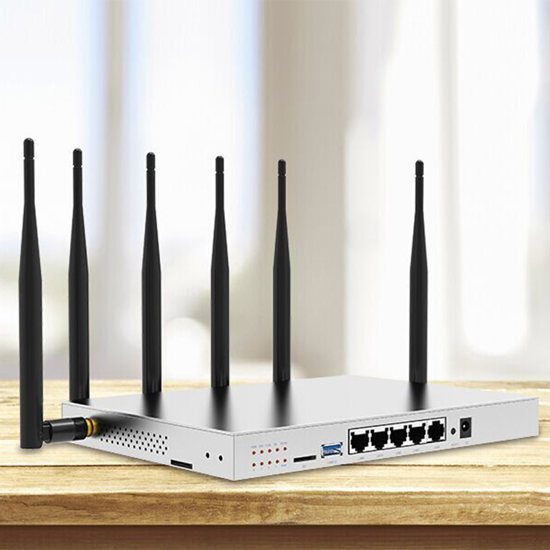 Modem 4g Lte Wifi Router With Sim Card Slot 1000Mbps Lan Port MT7621 Camera Surveillance Enterprise Router 4g 3g Vpn Pptp L2tp