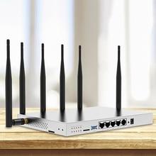 Modem 4g lte wifi router with sim card slot 1000Mbps lan port MT7621 camera surveillance enterprise router 4g 3g vpn pptp l2tp comfast gigabit ac authentication gateway routing mt7621 880mhz core gateway wifi project manager with 4 1000mbps wan lan port