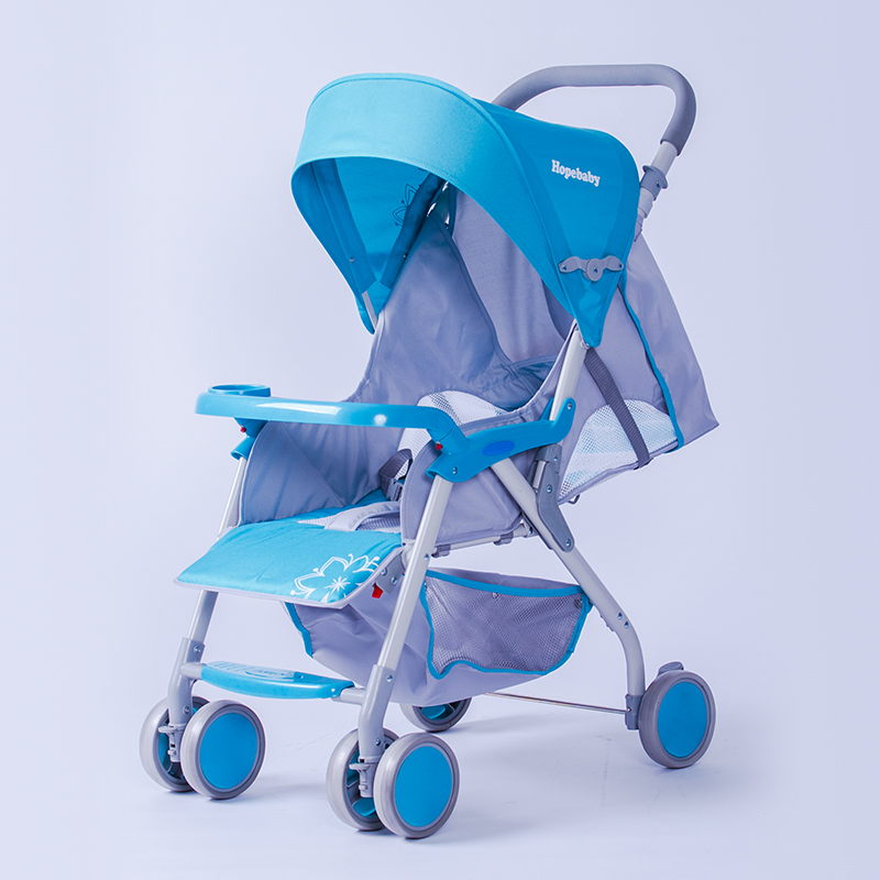 Hebao 715 light umbrella car baby trolley can lie on the four wheel folding cart. sometimes i lie