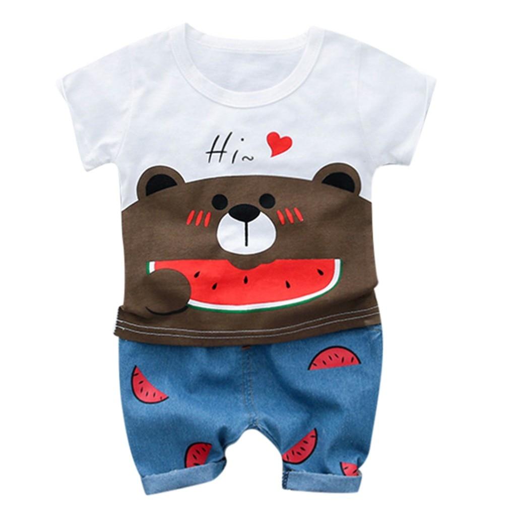 Preiswert Kaufen Kinder Baby Mädchen Kleinkind T-shirt Tank Tops Rock 2 StÜcke Mädchen Kleidung