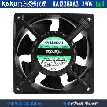 NEW KAKU KA1238XA3 380V 0.09A/0.08A ball bearing high air volume cooling fan