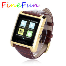 FineFunสมาร์ทนาฬิกาLF06 DM08บลูทูธหนังIPS S Mart W Atchนาฬิกาข้อมือสำหรับios a Ndroid p hone PK M26 U8 DZ09 GV08 GV18นาฬิกา