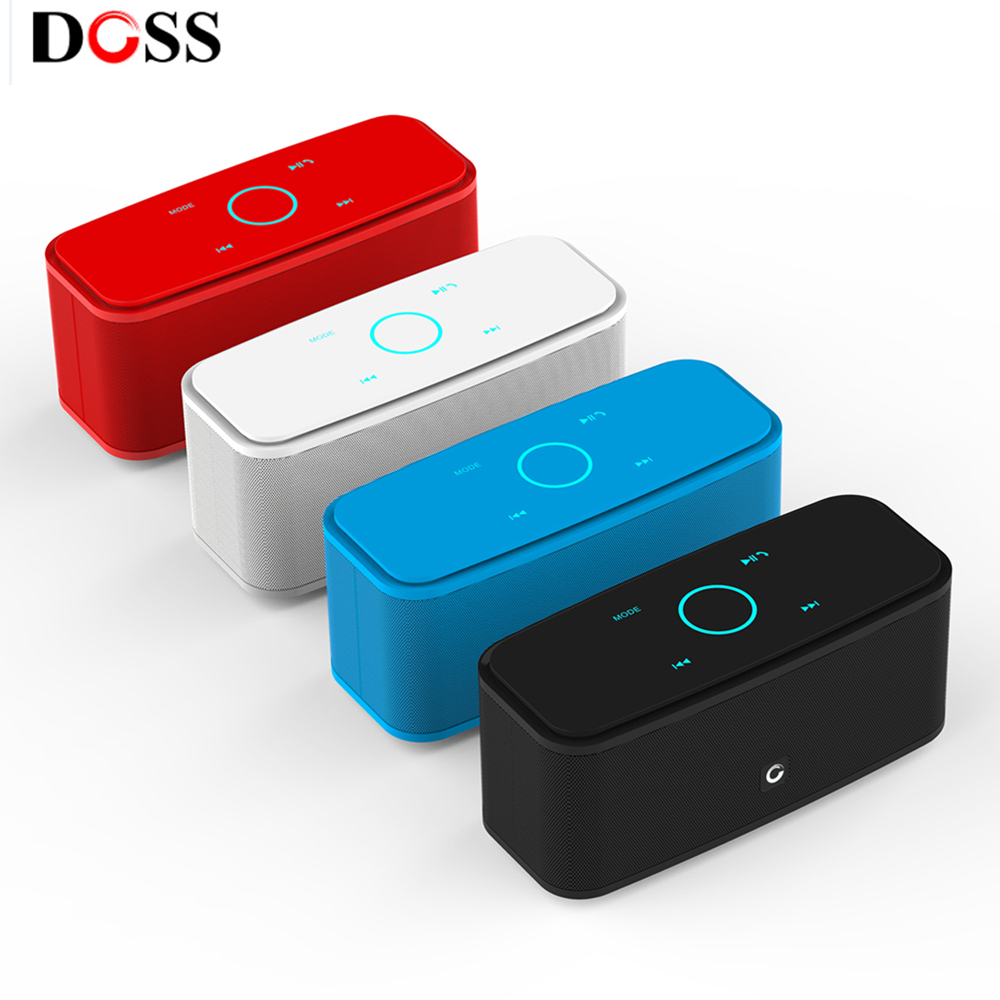 1681 Portable Touch Wireless Bluetooth Stereo Speaker Mini Player USA DOSS DS