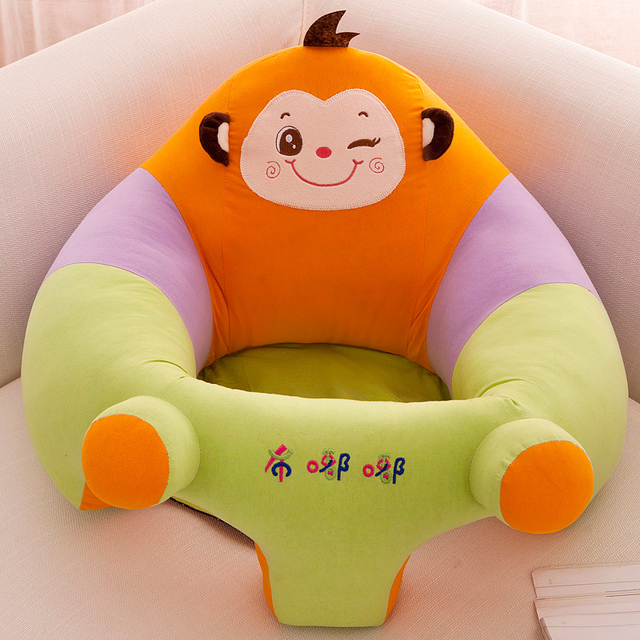 Baby Seats & Sofa Only Cover No Filling Cartoon Skin Upscale kids Baby Chair Toddler Children Washable Kids