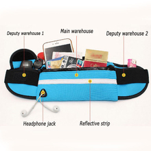 Waterproof  Running Waist Bag with Mobile Phone Holder