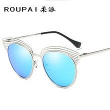 Nuevas gafas de Sol de Color Hueco de La Manera gafas de Sol de Tendencia gafas de Sol Polarizadas Gafas De Sol Mujer Al Por Mayor RP046