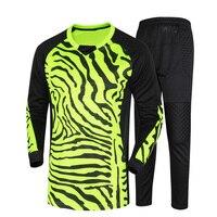 2016 Men S Soccer Goalkeeper Jersey Sponge Protector Suit Camisetas De Futbol Jersey Kids Goal Keeper