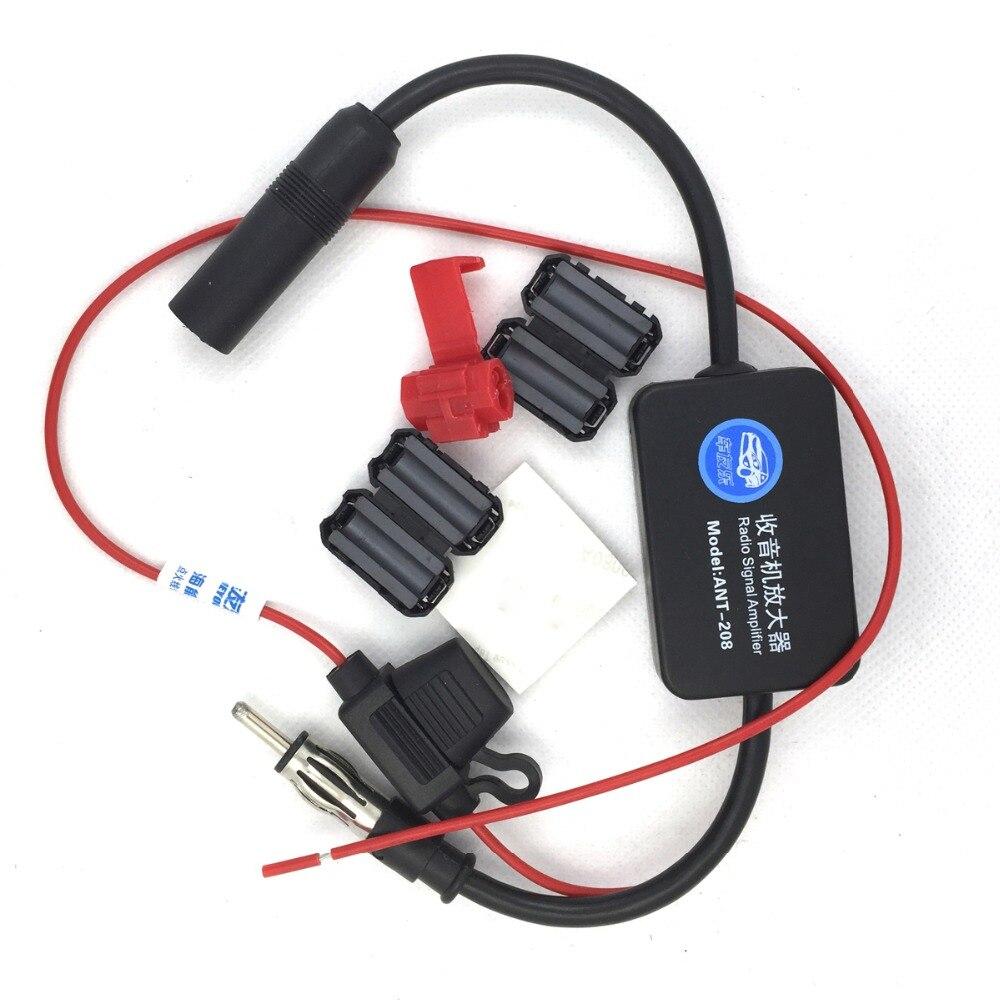 Auto Antenne Fm Radio Signal Antenne Verstärker Booster Radio Kostenloser Versand