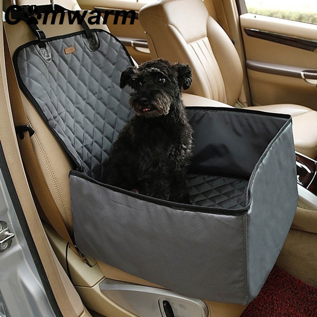Nylon Waterproof Pet Dog Car Booster Seat Cover Carrier Carrying Bags For Small
