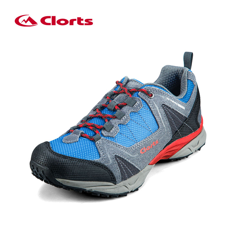 ФОТО 2016 Clorts EVA Hiking Shoes 3D028A/B Trekking Shoes Men Breathable Hiking Boots Camping Non-slip Outdoor Sneakers