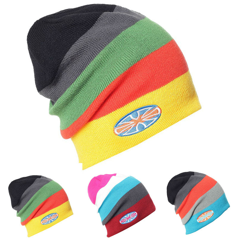 New Snowboard Winter Knit Ski Caps Skating Lot Snowboard Hats   Skullies     Beanies   For Men Women Gorro Diamond