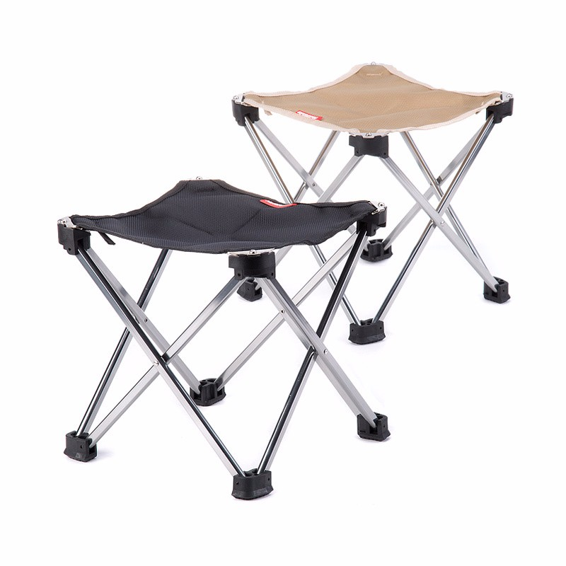 Outdoor Foldable Folding Ultra Light Fishing Picnic BBQ Garden Chair Tool Square Camping Chair 4