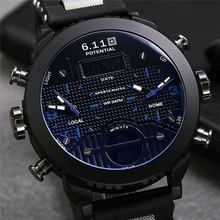 Big Mens Watch Sport Quartz Men Wristwatches