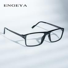 2016 ENGEYA TR90 Clear Lens Fashion Glasses Frame Men Prescription Eyewear Optical Myopia Eyeglasses High Quality 7 Colors