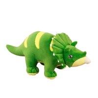 لطيف الحيوانات المحنطة لعب الأخضر ديناصور أفخم الدمى kawaii أفخم المساند oyuncak brinquedo العملاقة 60G643 bebek لعب للأطفال
