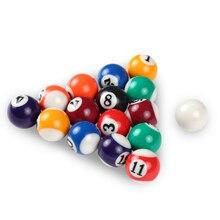 Детский биллиардный стол шары полный набор 25 мм/38 мм смолы маленькие бильярдные шары для пула Лидер продаж
