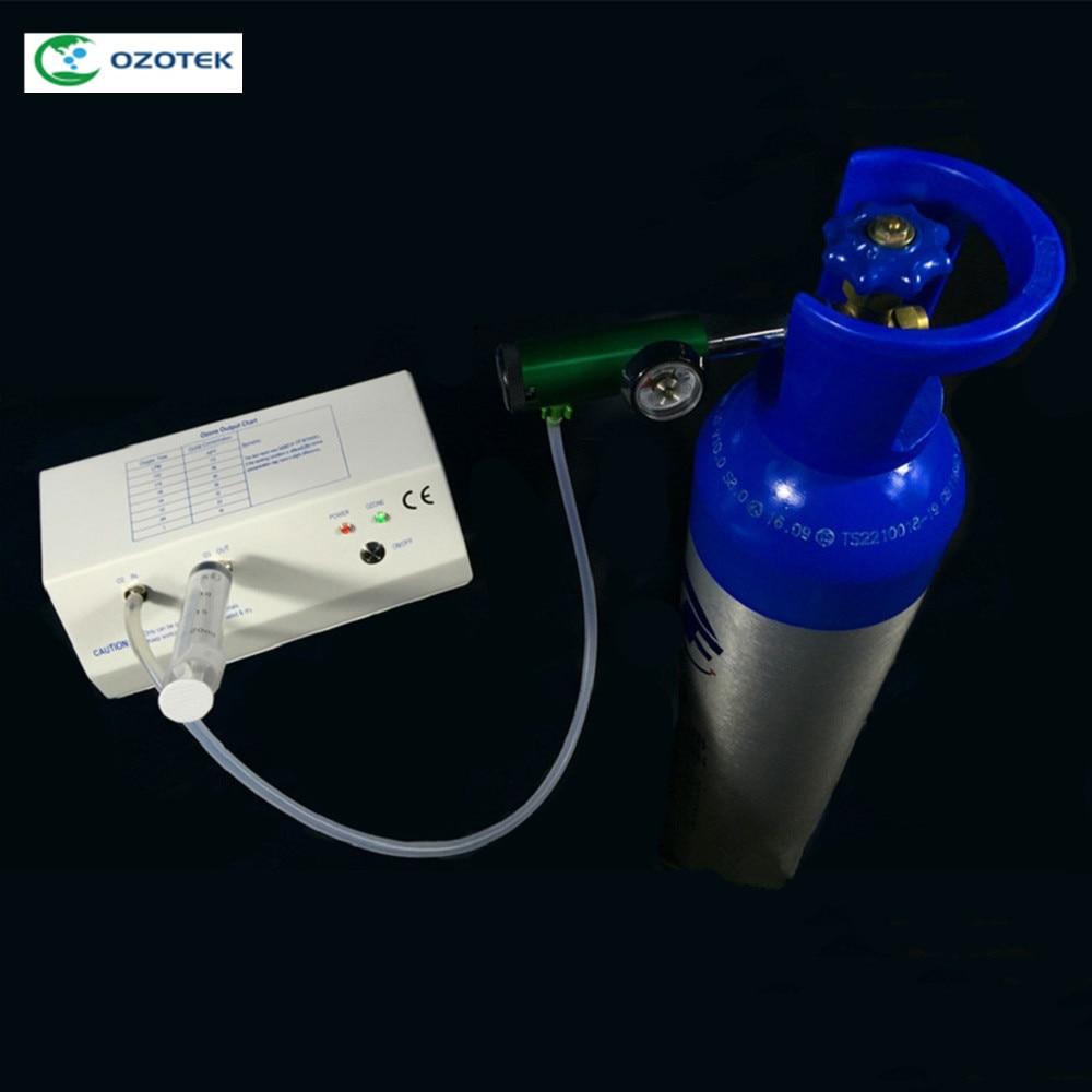 La thérapie d'ozone machines, clinique médicale générateur d'ozone concentration différente disponible jusqu'à 18-110ug/ml CE ROSH