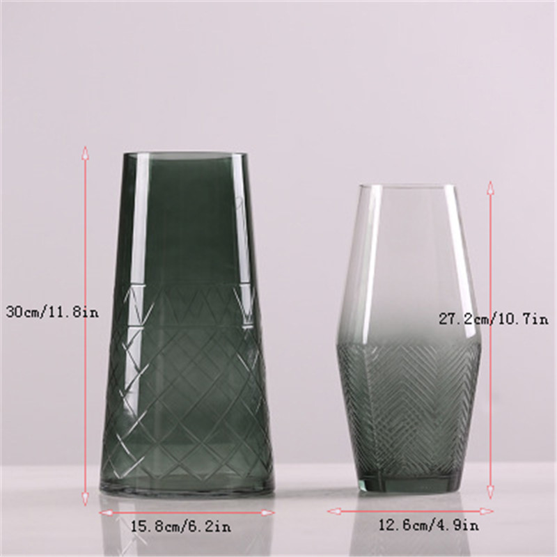 flower vase glass vase european flower vase plant pot05