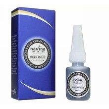 Individual False Eyelashes Extension Glue Long Lasting 25days 10ml Quick Dry Microstimulation Low Smell Eyelash Glue For Lashes
