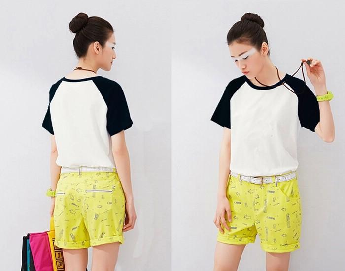700PX Raglan Short Sleeve T-shirt 6