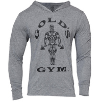 Mens Bodybuilding Hoodies Men Gym Hoody Long Sleeve Fitness Clothing Muscle Shirts Cotton Slim Golds Gym
