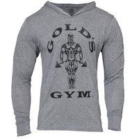 Złote Marka Odzież Bluzy Mężczyzn 3D Bluzy Dres Mężczyzna Kulturystyka Fitness Workout Streetwear Bawełna Moletom Masculino
