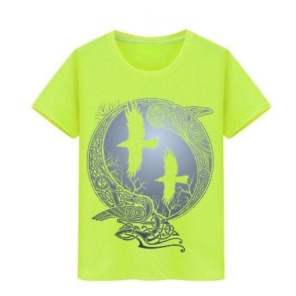 050d96f47 Kid T-shirt Vikings TV Series Odin's Raven Ragnar Lodbrok T Shirt Boy Girl  cotton Tshirt top tees Children Skateboard Teeshirts