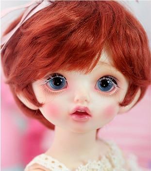 1/6 scale BJD Sweet cute kid girl Carol BJD/SD lovely Resin figure doll DIY Model Toys.Not included Clothes, shoes, wigs 1 4 scale bjd lovely cute bjd sd human body kid serin
