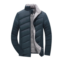 Plus Size 5XL Male Casual Varsity Windbreak Cotton Jacket Autumn Winter Men Fashion Brand Clothing Windproof