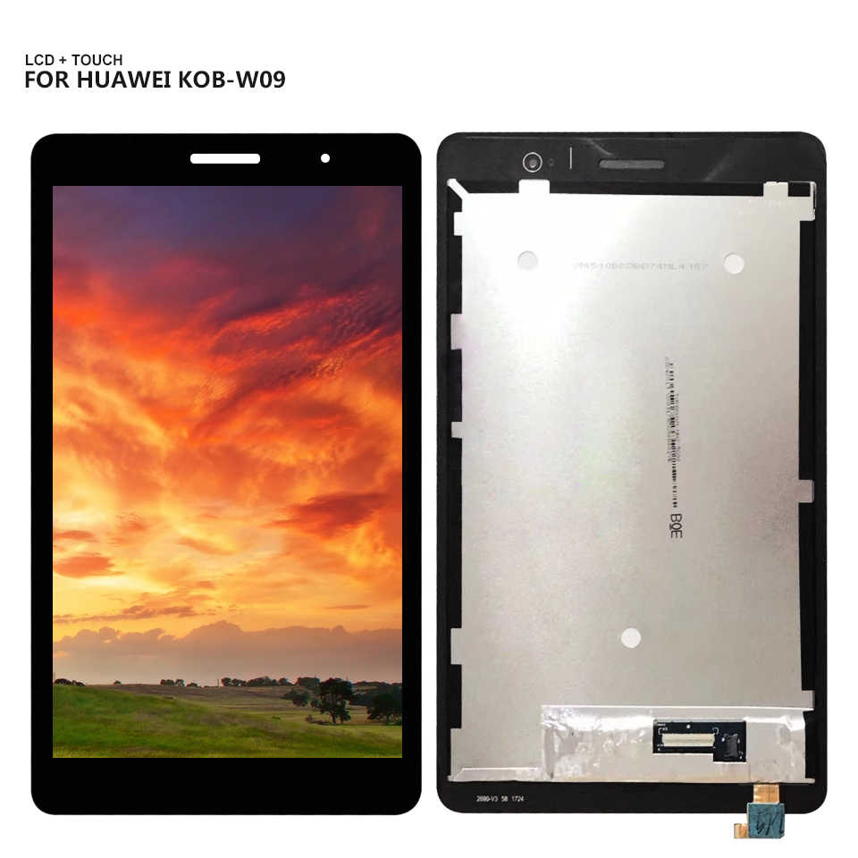 "8.0 ""עבור Huawei Mediapad T3 8 KOB-L09 KOB-W09 T3 LCD תצוגת מסך מגע digitizer עצרת + כלים"