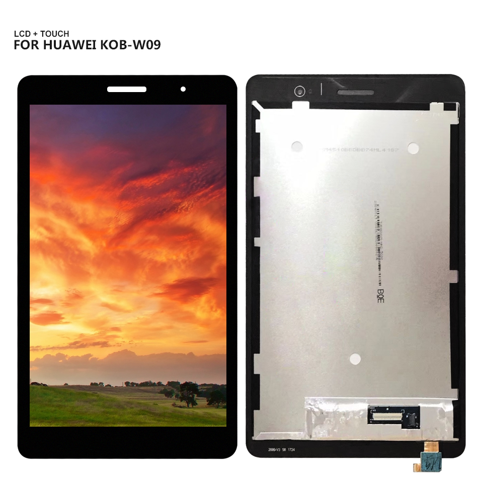 For Huawei Honor Play Meadiapad 2 KOB-L09 MediaPad T3 KOB-W09 Mediapad T3 8.0 LTE 8 LCD Display with Touch Screen Digitizer 100% guarantee good for huawei honor 4c 4a lcd display with touch screen digitizer assembly tools free shipping