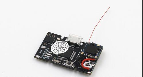 Mini NAZE32 6DOF version de brosse de contrôle de vol D-SM2 intégré récepteur 6 ch ESC pour bricolage FPV micro salle drone