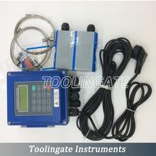 Ultrasonic Flow Meter TUF-2000B TL-1 Sensor DN300-6000mm PT-100 Heat transducer Clamp-on type liquid Flowmeters RS485 ModBus