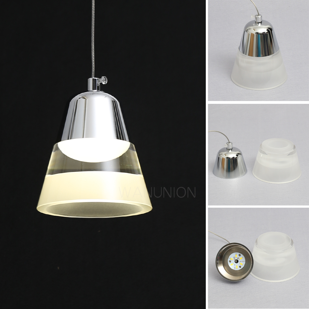 LED crystal lamp, round crystal, LED ceiling light, warm white / white LED inlay lamp, Tian Yuan home decorative Chandelier