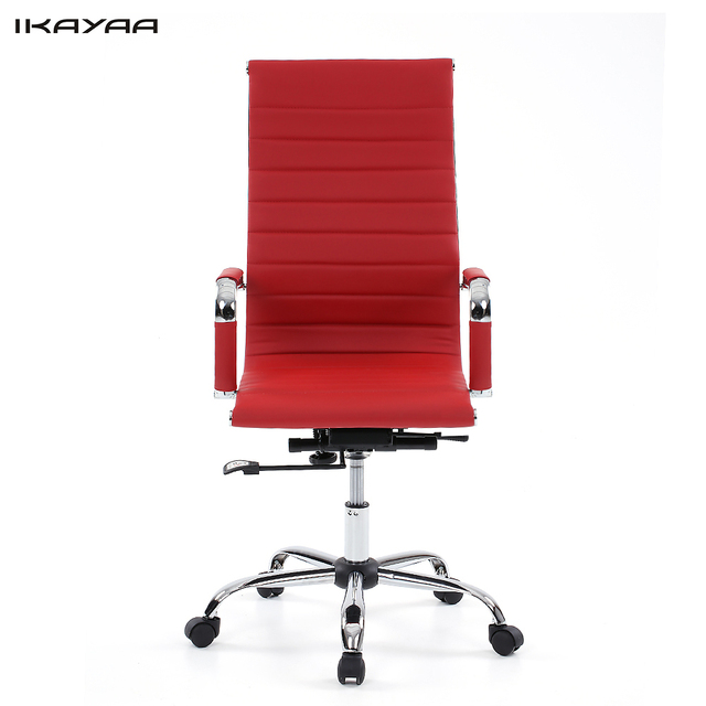 Excellent Us 150 23 Ikayaa Us Stock Office Executive Chair Stool Pu Leather Adjustable Swivel High Back Computer Task Office Furniture In Office Chairs From Alphanode Cool Chair Designs And Ideas Alphanodeonline