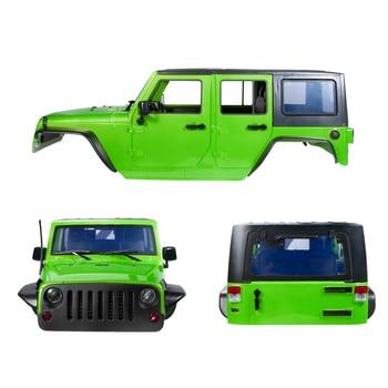 12.3 Inch 313 Mm Jarak Sumbu Roda Body Mobil Shell TRX4 Kit #82046-4 untuk 1/10 RC Crawler Jeep Cherokee wrangle Axial SCX10 & SCX10 II