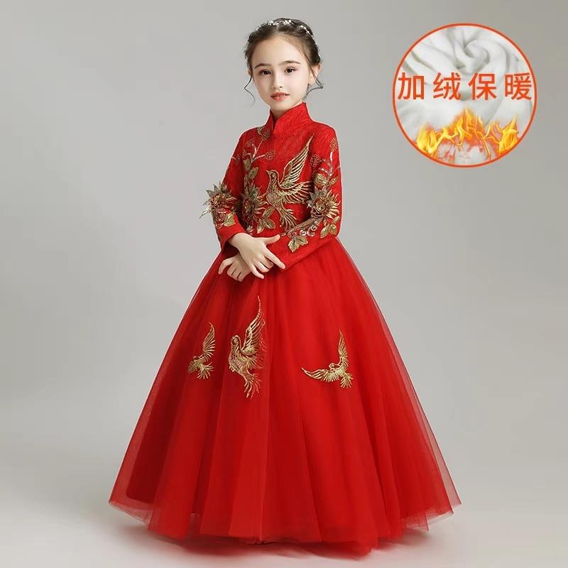 35a58b80a ... Luxury Children Girls Embroidery Birthday Wedding Party Prom Dress Kids  Baby New. sku: 32956578652