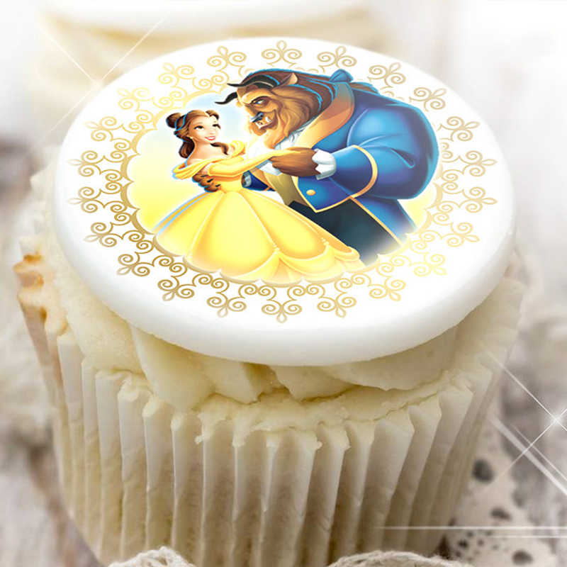 Detail Feedback Questions About Princess Transfer Sheet For Cake DecorationGirls Birthday Chocolate Idea Printing On Aliexpress