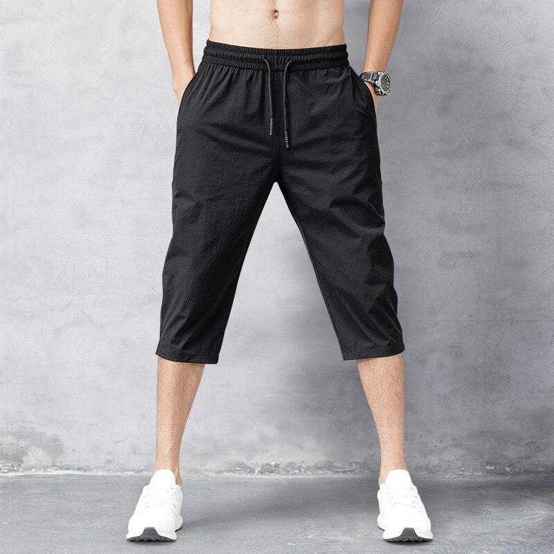 OLOME Men's Summer Short Pants Men Breeches Shorts Joggers Cargo Short Sweat Pants Trousers Roupa Masculina Bermuda Short Homme