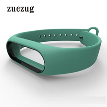 High Quality Mijobs Dual Color Silicone Bracelet Strap For Xiaomi Mi Band 2 Multicolor Rreplacement Bands