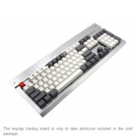 108 Keys Top Printed DSA PBT Backlit Gaming Keyboard Full Size Gray White Mixed Color Keycaps Set For Mechanical Keyboard