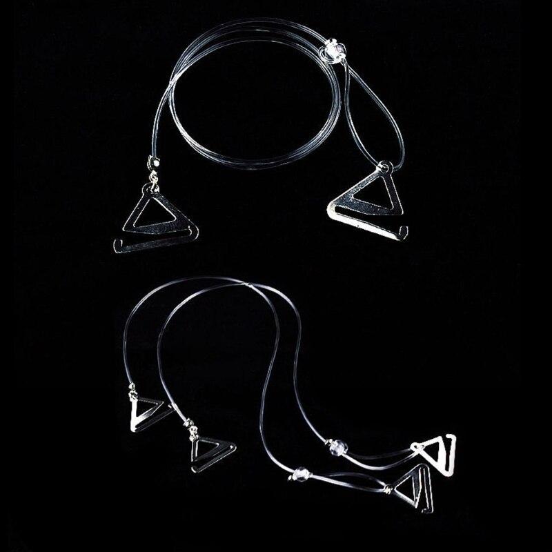 1fc6512121c77 Dropwow 2Pcs pair Bra Straps 2 Rows Crystal Gorgeous Prom Diamante ...