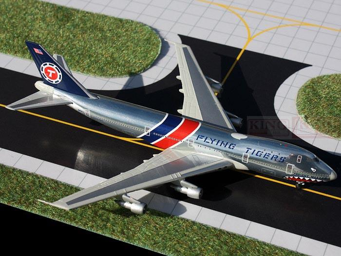 GJFTL1207 GeminiJets United States Flying Tiger Airlines 1:400 B747-100F commercial jetliners plane model hobby кмс