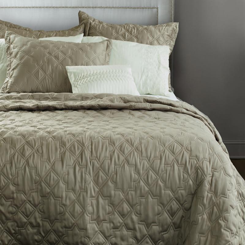 Adream Faux Silk Cotton Bedspread Comforter King Queen